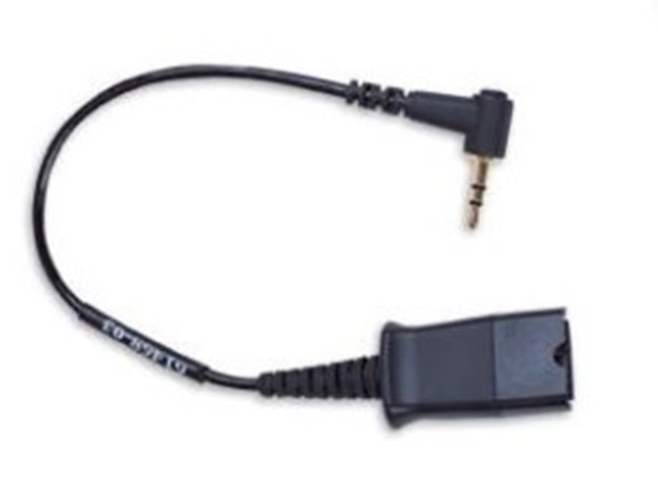 Plantronics cable assy QD to 2,5 mm voor Cisco.