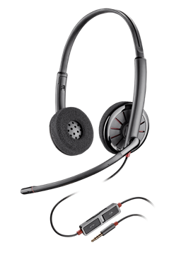 Plantronics Blackwire 225 Stereo