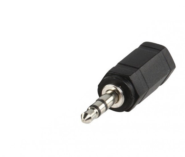 Audio Jack adapter 2,5mm (M)- 3,5mm (F)