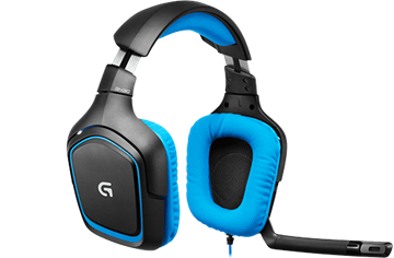 Logitech G430 Surr Sound Gaming Headset