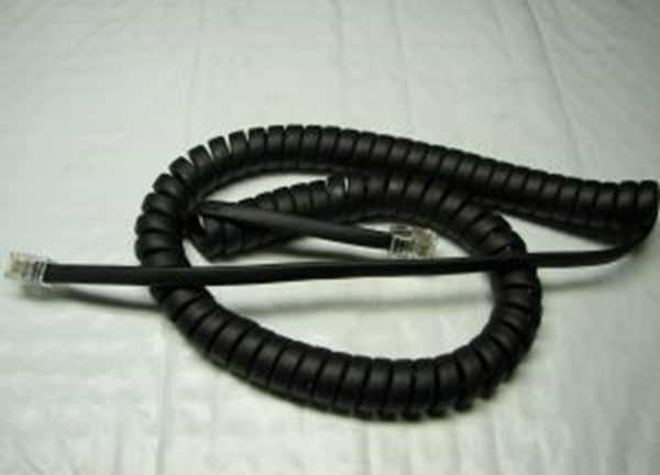 Nortel handsetcord (Charcoal) 9 FT