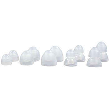 Bag of 25 clear eartips