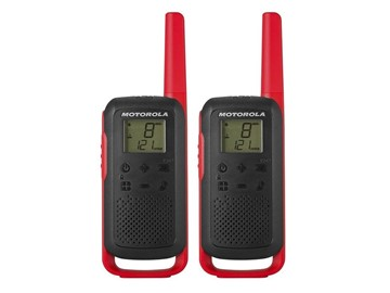 Picture of Motorola T62 red twin pack